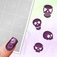Klebeschablonen Set Skull - SET029