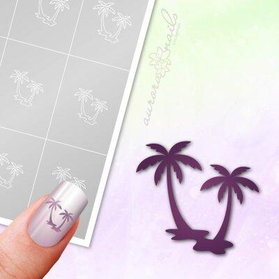 Klebeschablonen Palme - M379