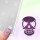Klebeschablonen Skull-Schädel - M527