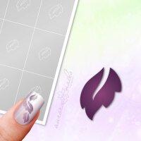 Klebeschablonen Blätter - B108