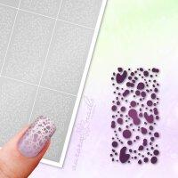 Klebeschablonen Tropfen-Muster - MU083
