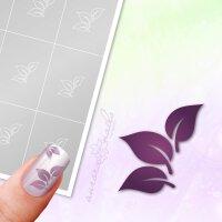 Klebeschablonen Blätter - B171